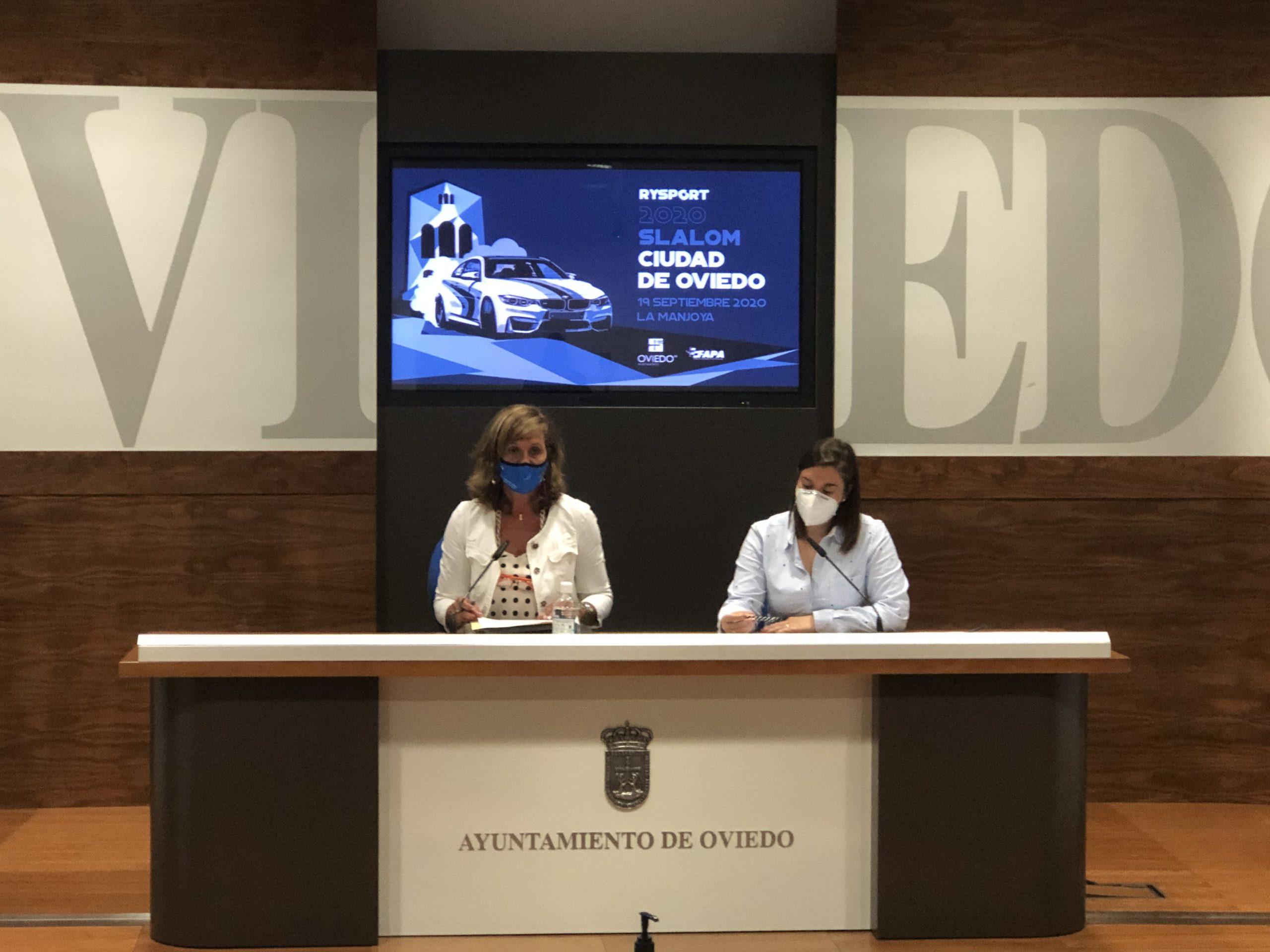 Presentado a los medios el Slalom Ciudad de Oviedo 2020 en el Ayuntamiento de Oviedo