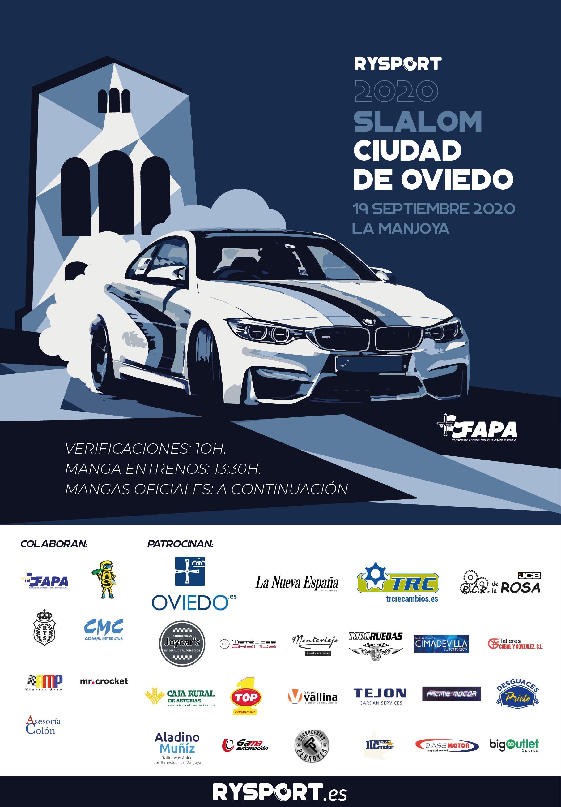 Presentado el cartel oficial del Slalom 2020